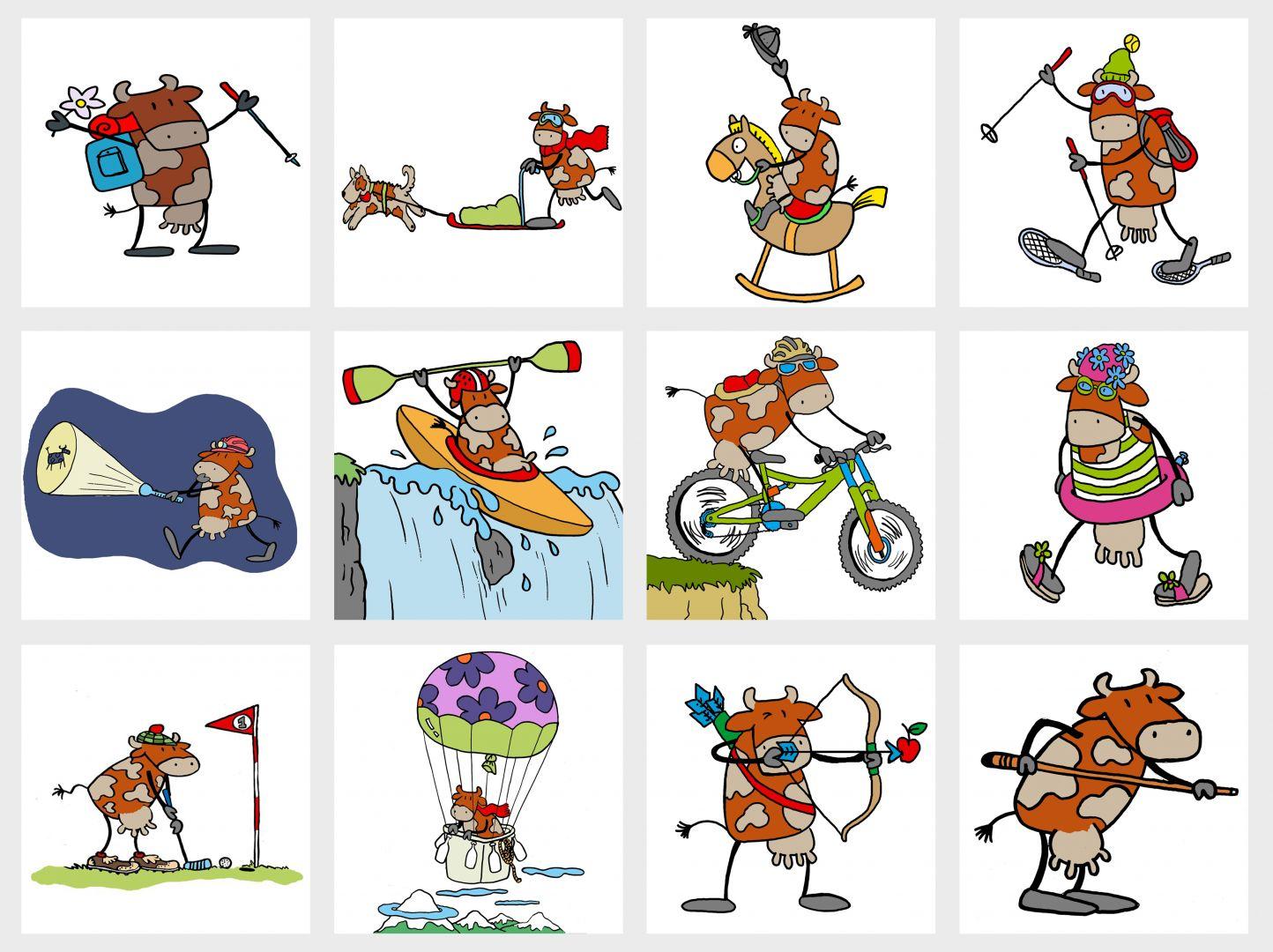 Senderisme, trineu tirat per gossos, oci infantil, esquí de muntanya, senderisme nocturn, piragüisme, bicicleta de muntanya, natació, golf, viatge en globus aerostàtic, tir amb arc, billar.