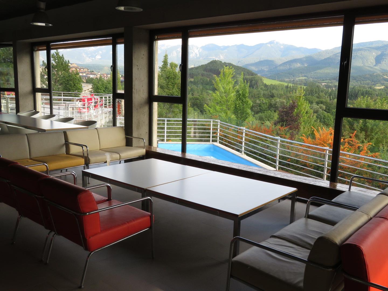 Recepció i sala d'estar